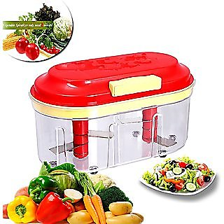 Big 2 Blade vegetable chopper Manual Food Processor Easy to use