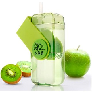 Right Traders Note Book Ultra Sim Paper Bottle - Flat Portable 230ML Water Bottle ( psck of 1 )