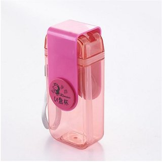 Right Traders  Note Book Ultra Sim Paper Bottle - Flat Portable 420 ML Water Bottle ( pack of 1 )
