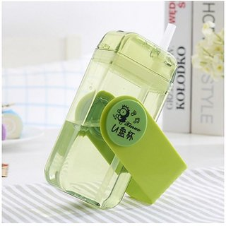 right Traders Memo Note Book Ultra Sim Paper Bottle - Flat Portable 230 ML Water Bottle