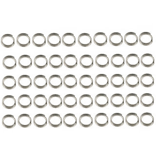 Futaba Stainless steel Round Fishing Tackle - 5mm - 50Pcs