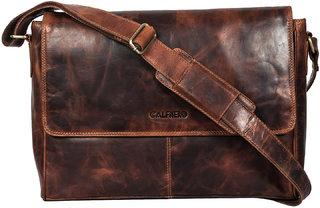 Calfnero Genuine Leather Men's Cross Body Bag