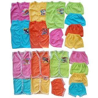 Sonpra Baby Soft Cotton Jablas Shorts Combo Set -Colorful Fashion Style