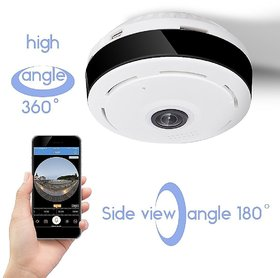 D3D Wireless Fisheye Vision 360 Panoramic IP Camera CCTV Security Home Surveillance Camera ModelD1005W
