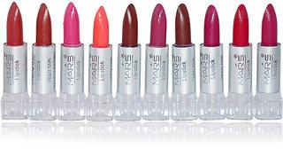 Mars Mini Lipstick (A) - 141 g (PACK OF 10 MINI LIPSTICK.)