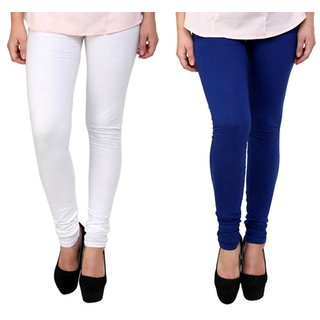 I Shop Cotton Lycra Women's Churidar Legging