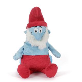 JEWEL FUEL Plush Fabric Smurf Picnic Bag For Kids (JFKDSSMRFBAG02)