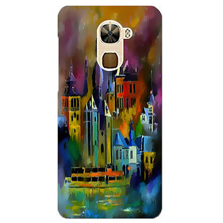Printgasm LeEco Le Pro3 printed back hard cover/case,  Matte finish, premium 3D printed, designer case