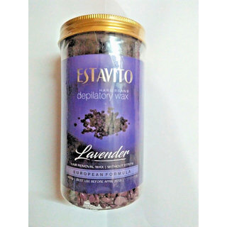 ELEGANCIO Lavender Wax Beans Body Hair Removal 500GM
