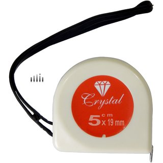 Crystal 5 Meter Pocket Measuring Tape (5mx19mm)