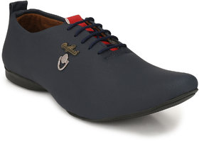 Lee Peeter Men's Navy Stylish Lace Up Casual Shoe