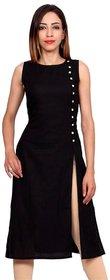 Aiza collection black designer stitched crepe designer kurti