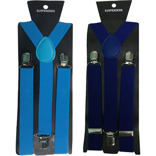 Atyourdoor Y- Back Suspenders for Men(NB Royal Blue Color)