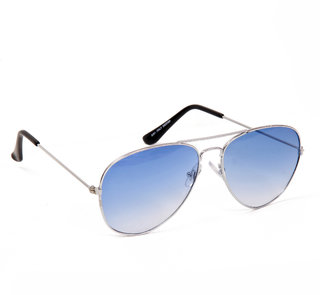 Yuvi Super Stylish Blue Sunglass Pack Of 1