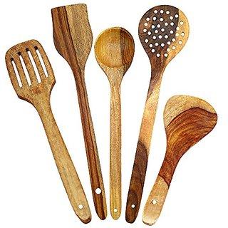 Wooden Skimmer (Set of 5)