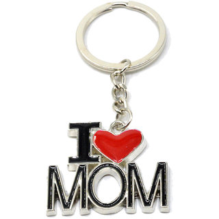 Faynci Love U Mom I Love MOM Key Chain for Gifting