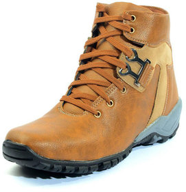 Boot For Men from 00RA Casual Sneaker Style Brown Color shoes size 10 uk