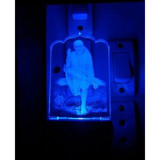 Sai baba colour changing LED night lamp