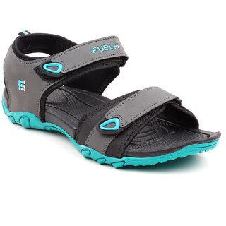 Fuel Men Grey Sports Sandals