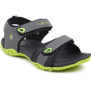Fuel Men Green Sports Sandals