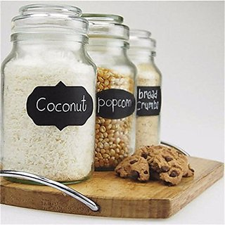 Kitchen Jars Organizer Chalk Board Sticker