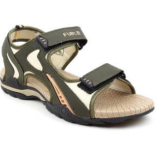 Fuel Men Olive Sports Sandals