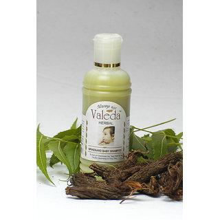 Valeda Herbal Spikenard Baby Shampoo - Mild pH and No Tear Formula. (100 ml)