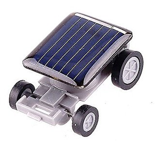 Neo Rising Solutions Innovative Cute Ultra Small Solar Energy Car. (1 Units, Grey Multicolor)