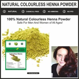 Buy Colourless Henna Fresh Leaves Mehndi Powder For Hair Color
