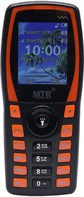 MTR MT1103 DUAL SIM MOBILE PHONE BLACK ORANGE