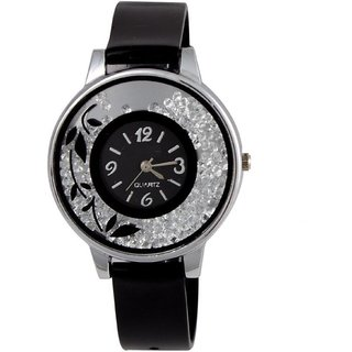 TRUEW CHOICE BLACK WELL SIMPLE ANALOG WATCH FOR WOMEN.