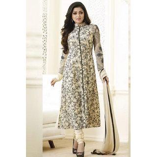 Salwar Soul Party Wear Latest Designer Cream Neck And Long Salwar Suit for women  girls