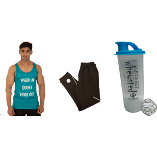 KLOTHOFLEX  combo of tanktop, lower and gym shaker