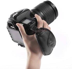 Americcan Sia Leather Adjustable Hand Grip Wrist Strap of DSLR Camera