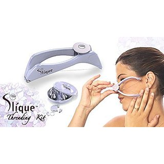 Slique-Eyebrow-Face-and-Body-Hair-Threading-and-Removal-Slique-Threading-System
