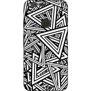 Google Pixel XL, Abstract Geometric Pattern Slim Fit Hard Case Cover/Back Cover For Google Pixel XL