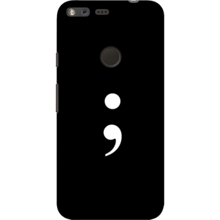 Google Pixel, Life goes on Slim Fit Hard Case Cover/Back Cover For Google Pixel