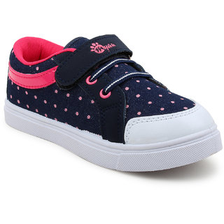 Myau Boys Girls Velcro Sneakers