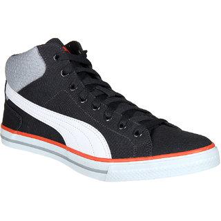 Puma Delta Mid NU IDP Black White Sneakers