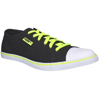 Puma Men Puma Streetballer DP Black Yellow Casual Shoes