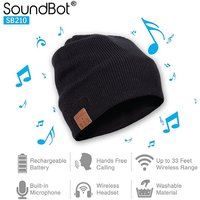 SOUNDBOT SB210 BLUETOOTH WIRELESS MUSICAL HEADSET BEANIE