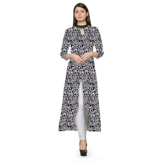 Shree Wow  Women'S Black Kurti