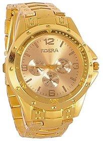 Rosra Watches For Men- Golden Watch By HansHouse