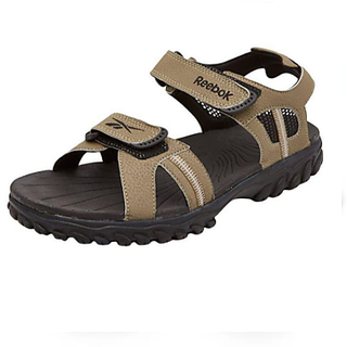 670d98d5d23073 Buy Reebok Men S Brown Black Sandals Online   ₹2799 from ShopClues