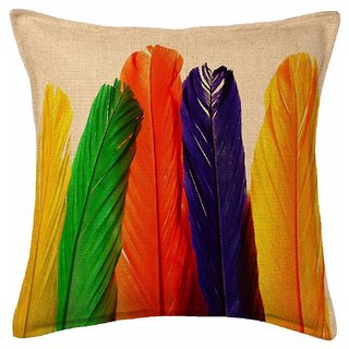 Shiv kirpa Digital Printed Cushion Cover Pack Of 5