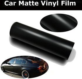 12x24 Matte Black Vinyl Car Wrap Sheet Roll Film Sticker Decal