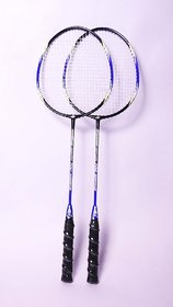 Boshika BSK - 7212 badminton racket Light Weight Excellent Quality (Set of 2 racquets)