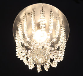 Discount4product Crystal Hanging Pendant, Hanging Light, Hanging Lamp Fixtures, Dining Room Lights