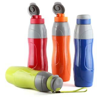 Cello Puro Sports Insulated Water Bottle 900Ml Set Of 4 Assorted