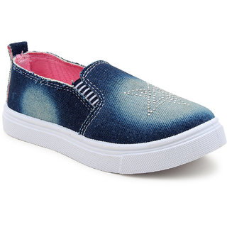 Myau Boys Girls Slip on Loafers
